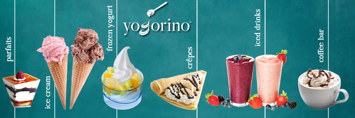 Yogorino: not just frozen yogurt!