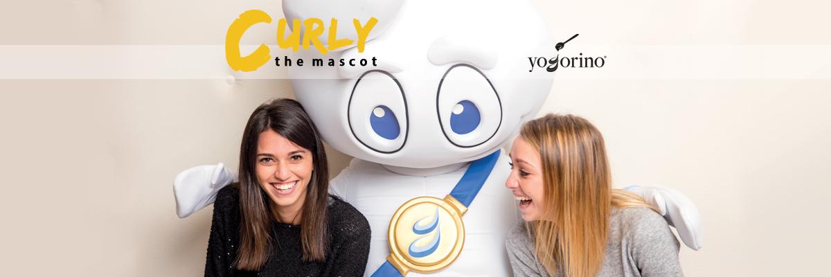 Yogorino Mascot: Curly